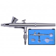 0.2mm Dual Action Gravity Feed Airbrush Paint Gun