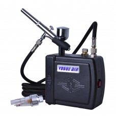 Dual Action Airbrush Kits Tattoo Makeup Mini Air Compressor