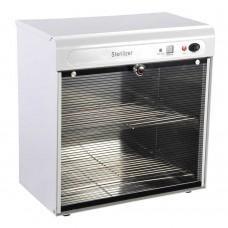 16L Salon UV Electric Sterilizer Double Room Cabinet