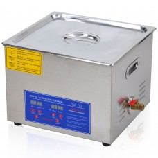 15L Stainless Steel Digital Heater Ultrasonic Cleaning Machine